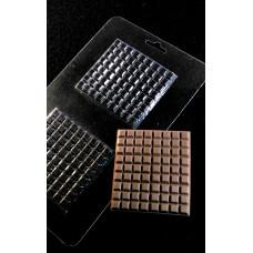Форма пластиковая Е2-051 шоколадный лист (Украина)