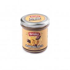 Арахисовая паста с черным шоколадом ТМ Brisko (Украина) Вес: 1кг