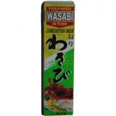 Васаби, горчичная паста ТМ Yumart. Вес:43 грамм (очень острая)
